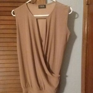 Women's sleeveless top